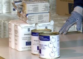 Incepe distribuirea stocurilor excedentare de alimente