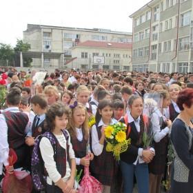 Prima zi de școală la Târgu Neamț