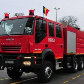 Pompierii târgnemțeni așteaptă vizitatori de Ziua Porților Deschise