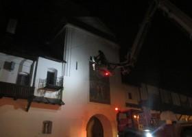 ALARMĂ! Incendiu de proporții la Mănăstirea Neamț