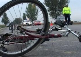 Biciclist accidentat la Vânători- Neamț