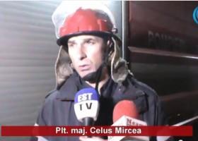 Incendiu la o casă părăsită din Humulești