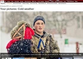 Fotografia unui târgnemțean, în topul BBC (News in Pictures)