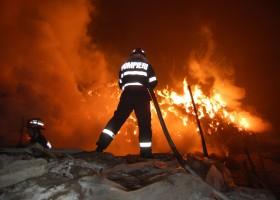 Incendiu in Ungheni – Raucesti