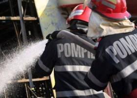 Incendiu la un grajd din Bălțătești