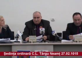 Ședința C.L. Târgu Neamț (27.02.2015) – video
