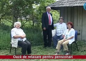 Oază de relaxare pentru pensionari