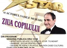 Ziua Copilului, cu Next Star și actorul Vasile Muraru