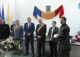 Semnarea Hrisoavelor de Înfrățire (Târgu Neamț- Sebeș)