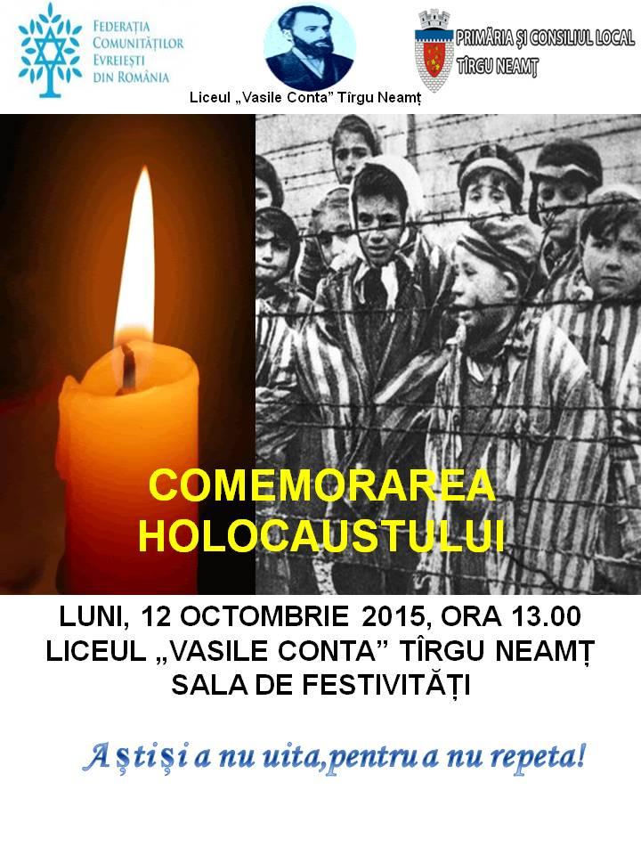 afis HOLOCAUST 2015