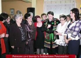 Petrecere ca-n tinerețe la Solidaritatea Pensionarilor