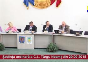 Intrigi și muschi: ședința Consiliului Local Târgu Neamț