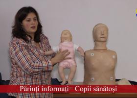 """""""Părinți informați= Copii sănătoși"""": Zeci de părinți au beneficiat de informații vitale pentru sănătatea copiilor"""