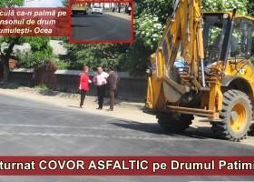 Covor asfaltic pe Drumul Patimilor