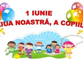 1 Iunie, ziua copiilor