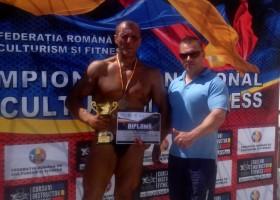 Successportiv târgnemțean la Campionatele Naţionale de Culturism şi Fitness