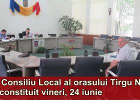Se constituie Consiliul Local al orașului Târgu Neamț pentru mandatul 2016- 2020