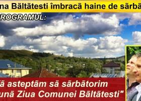 Invitație la Ziua comunei Bălțătești