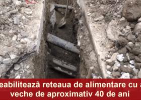 După 40 de ani: Încep lucrările de reabilitare a rețelei de alimentare cu apă în zona centrală a orașului Târgu Neamț