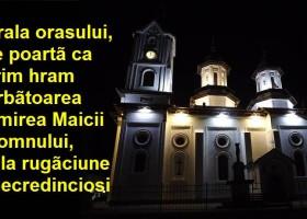 Adormirea Maicii Domnului, hramul catedralei din centrul orașului Târgu Neamț