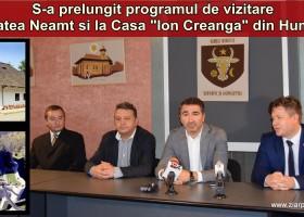 Program prelungit la Cetatea Neamț și la Casa Creangă