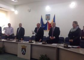 Noul consilier local și-a depus jurământul