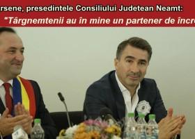 Ionel Arsene, un partener de încredere pentru târgnemțeni