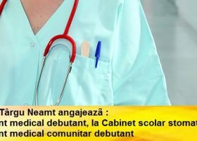 D.A.S. Târgu Neamț scoate la concurs două posturi de asistent medical