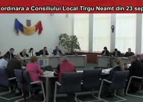 Ședința ordinară a C.L. Târgu Neamț din 23.09.2016