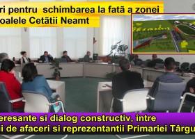 Dialog constructiv și idei interesante cu privire la dezoltarea zonei Parc Cetate
