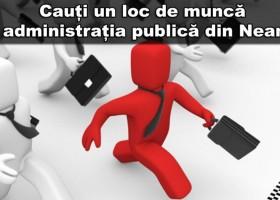 Locuri de muncă în administrația publică din Neamț