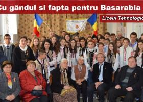 Liceul Tehnologic Oglinzi, cu gândul și fapta pentru Basarabia