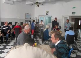 Bătrânii de la Centrul de Îngrijire și Asistență, vizitați de primarul Daniel Harpa