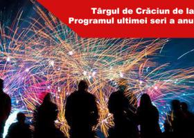 Târgul de Crăciun de la Neamț: Programul zilei de sâmbătă, 31 decembrie