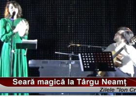 Seară magică la Târgu Neamț: concert de colinde Clara Toplicianu