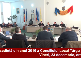 Vineri, 23 decembrie, ultima ședință a C.L. Târgu Neamț din anul 2016