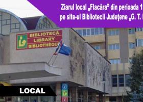 """Ziarul local """"Flacăra"""" din perioada 1944-1964, pe site-ul Bibliotecii Judeţene """"G. T. Kirileanu"""""""