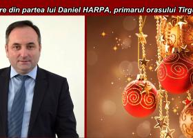 Felicitare din partea primarului Vasilică Harpa