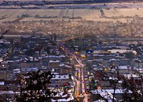 Poza Zilei: iarnă peste Târgu Neamț