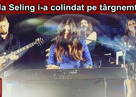 Paula Seling, concert de colinde la Târgu Neamț