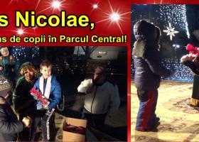 Copiii din Târgu Neamț l-au întâlnit pe Moș Nicolae!