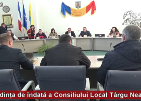 Ședința de îndată a Consiliului Local Târgu Neamț (6 decembrie)
