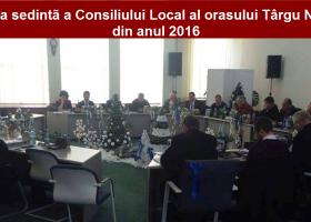 Ședință festivă de Consiliu Local la Târgu Neamț