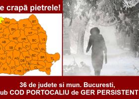 ATENȚIE: COD PORTOCALIU DE GER!
