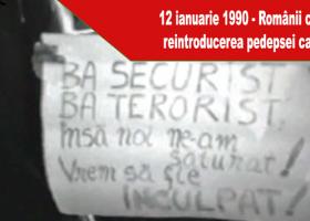 Acum 27 de ani, românii cereau reintroducerea pedepsei capitale