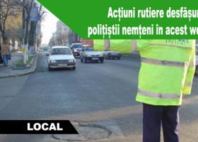 Acțiuni rutiere desfășurate de polițiști în acest weekend