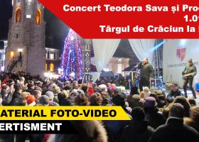 Concert Teodora Sava și Proconsul – Târgul de Crăciun la Neamț