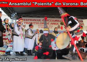 """Datini de Anul Nou: Ansamblul """"Poienița"""" din comuna Vorona, județul Botoșani"""