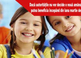 Copiii născuți după data de 9 februarie 2011 vor primi de la stat câte 500 de euro