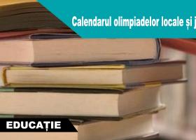 ISJ Neamț: Calendarul olimpiadelor locale și județene